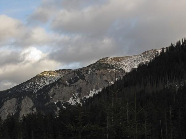 Warunki zimowe w górach - wersja tegoroczna