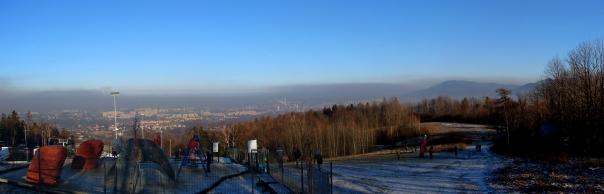 Smog nad Bielsko-Białą