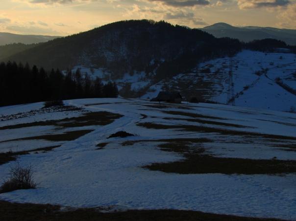 Zejście do doliny i z powrotem pod górę